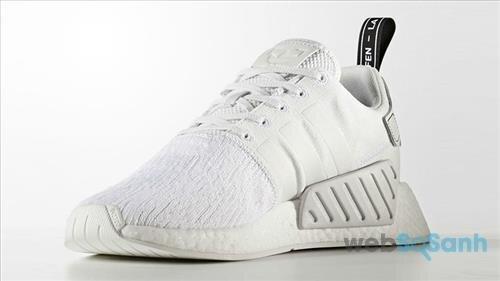 Adidas NMD_R2 Primeknit All White