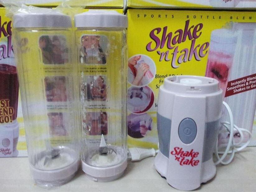Sẽ thật tiếc nếu bạn chưa mua máy xay sinh tố Shake n Take!