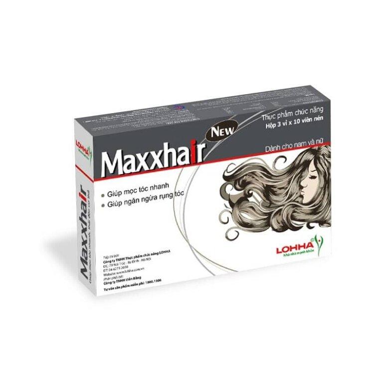 Giá bán thuốc mọc tóc Maxxhair