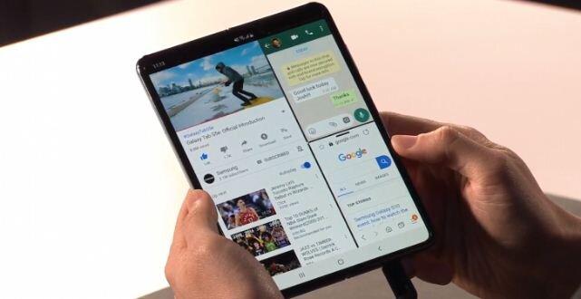 Samsung Galaxy Fold màn hình gập