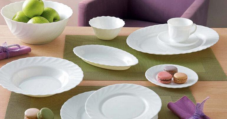 Bộ bát đĩa Luminarc Trianon cho bữa ăn ấp áp hơn.