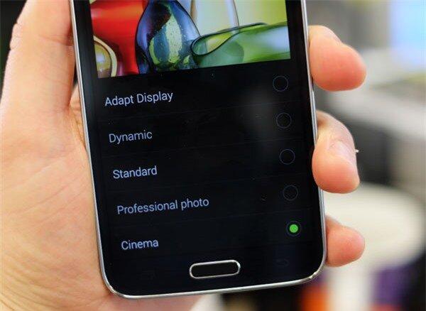 Galaxy S5 modes