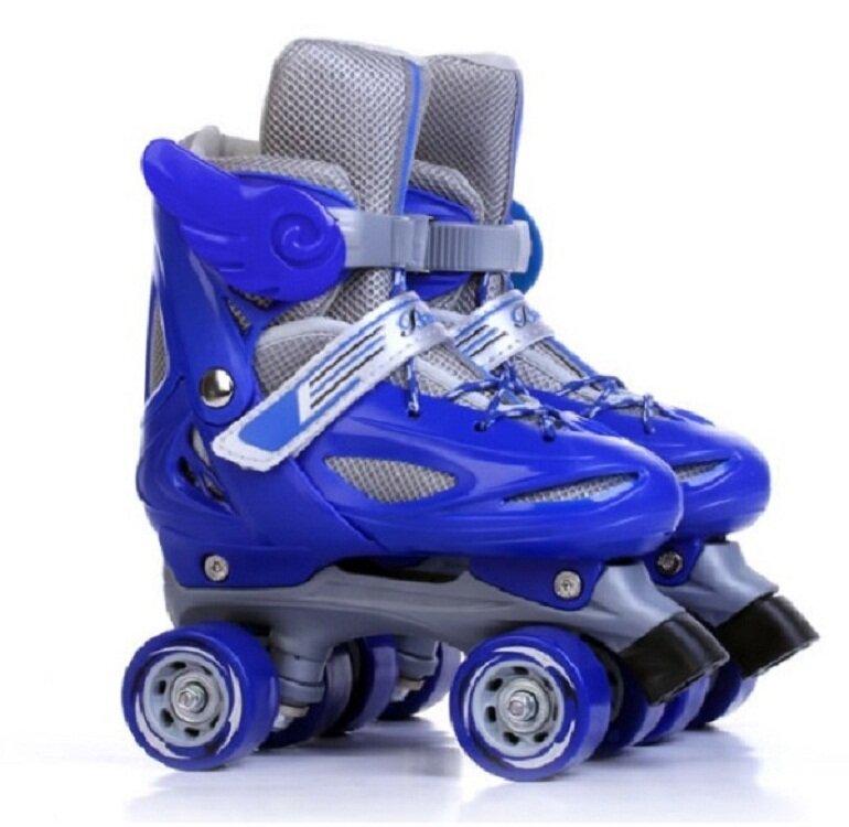Giày trượt patin 4 bánh 2 còn được gọi là giày patin 4 bánh ngang
