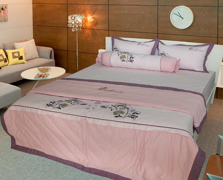 Bộ chăn ga gối Thắng Lợi mang lại sự sang trọng cho thiết kế phòng ngủ