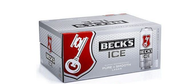 bia Beck's Ice