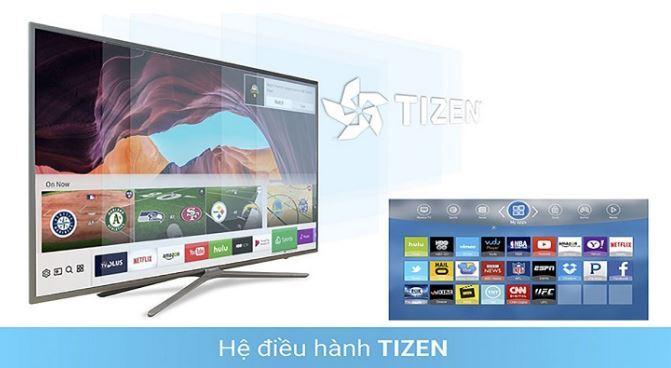 Hệ điều hành Tizen trên tivi Samsung