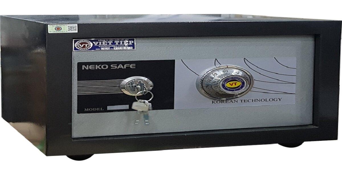 thiết kế của két sắt mini Việt Tiệp