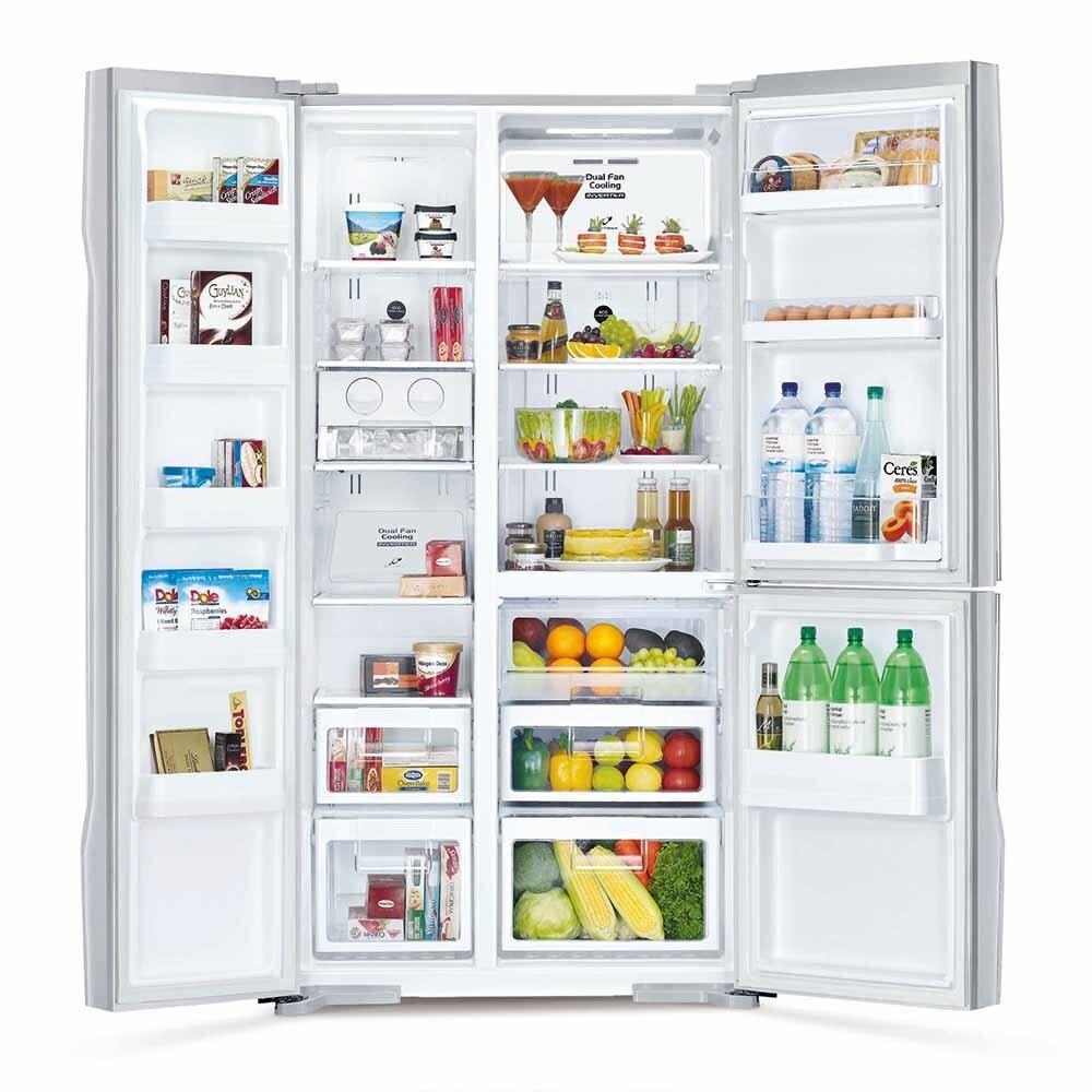 Thiết kế các ngăn nhỏ riêng biệt giúp thuận tiện trong việc lưu trữ, sắp xếp thực phẩm