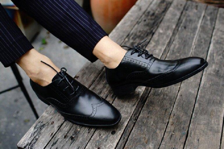 giày da nam mọi