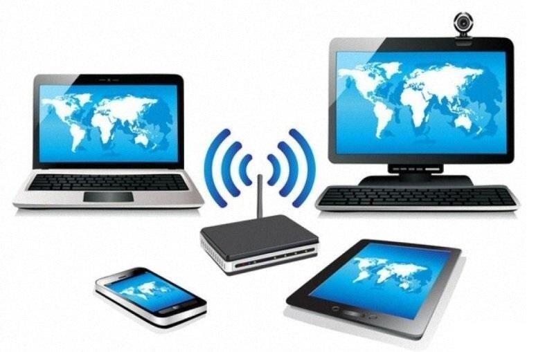 Nhiều thiết bị thu wifi khác sử dụng cùng lúc cũng lý giải tại sao tivi Sony không vào được Youtube