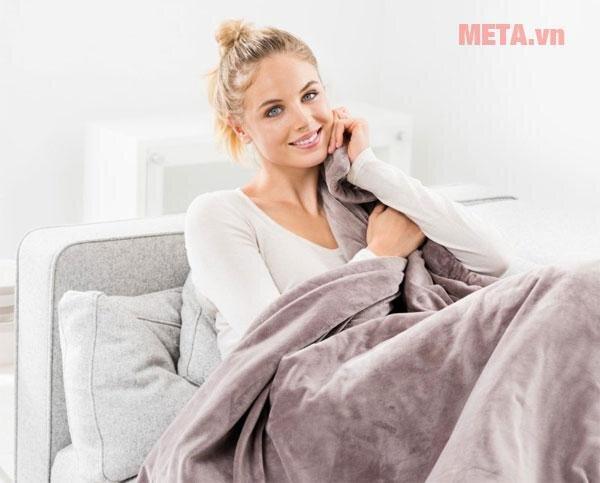 Chăn điện sẽ giúp cơ thể bạn được ấm áp, ngủ ngon