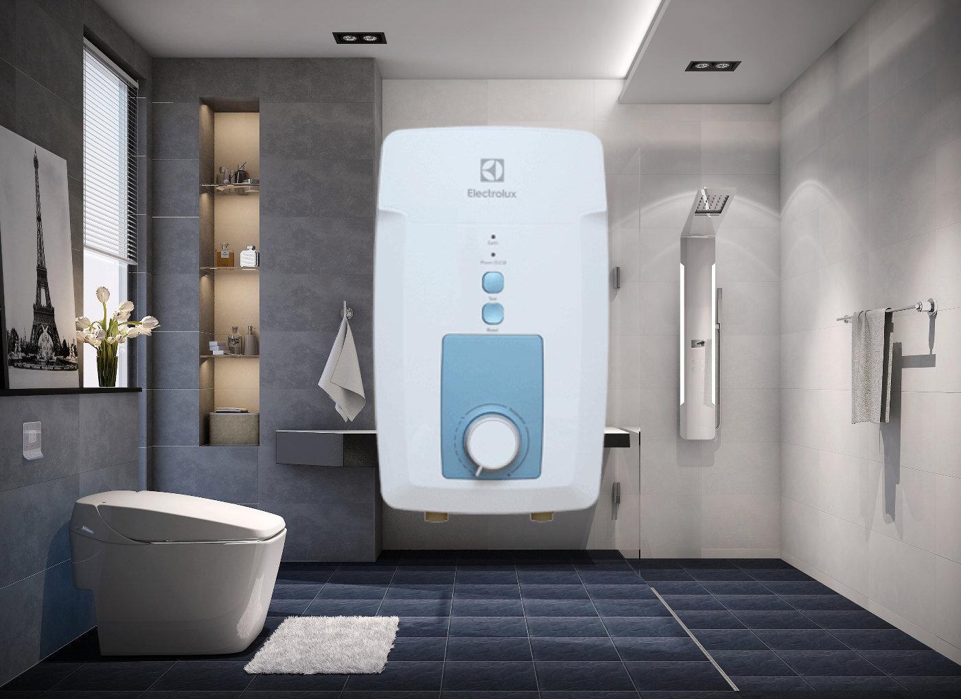 Máy nước nóng của hãng Electrolux là thương hiệu đến từ Thụy Điển