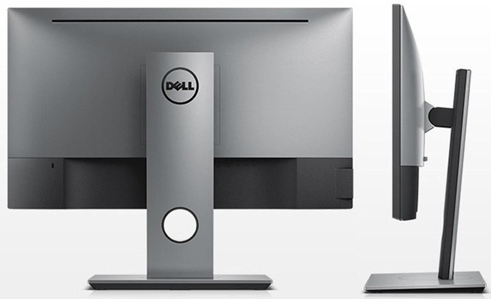 Thiết kế mặt sau chắc chắn của màn hình Dell U2417H