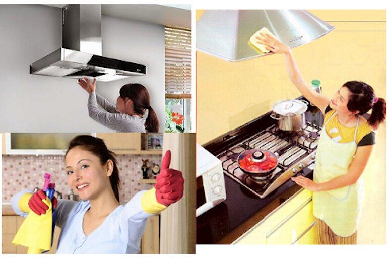 Lưu ý vệ sinh thường xuyên cho máy hút mùi nhà mình, đặc biệt sau khi sử dụng