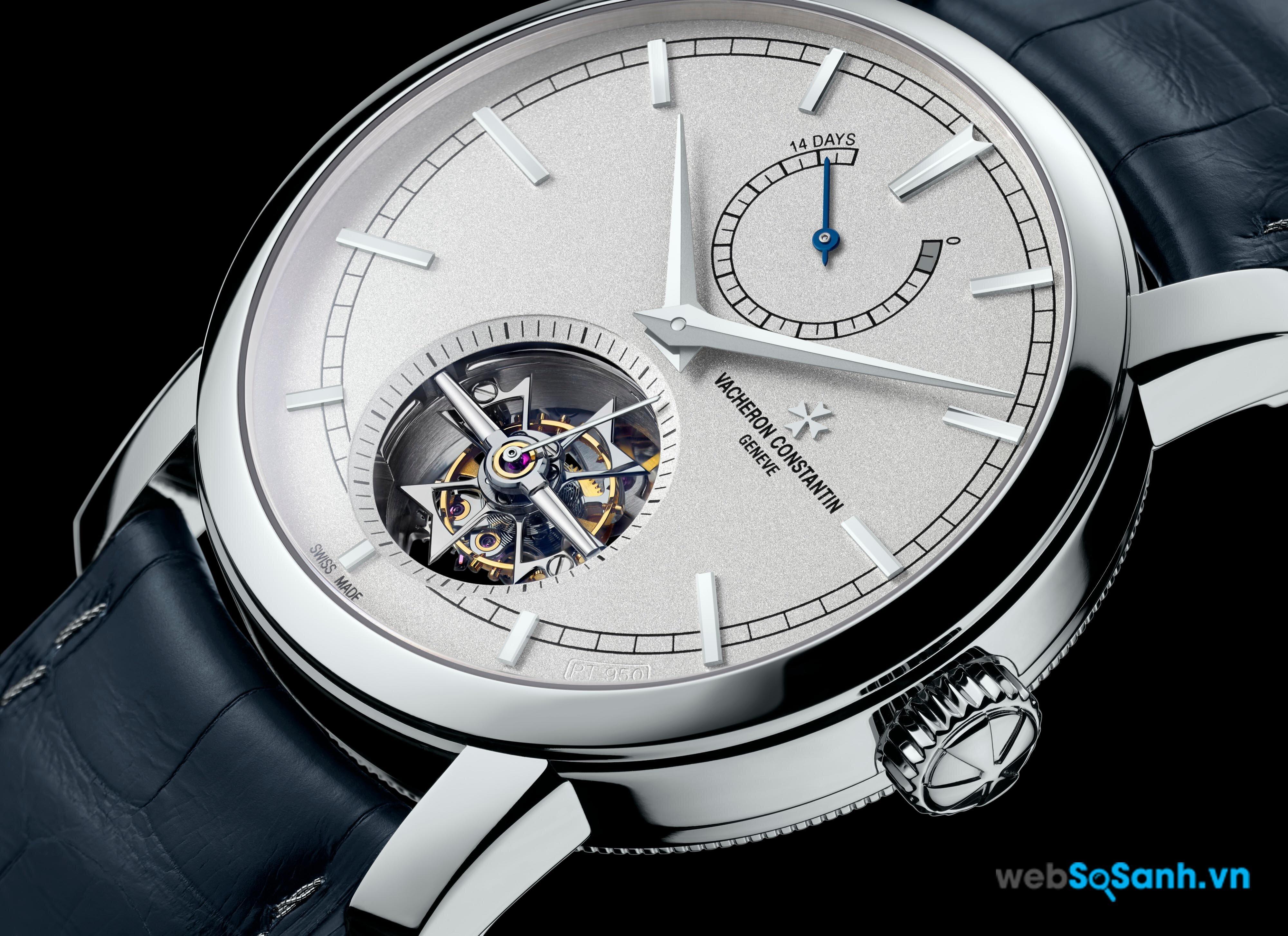 Một chiếc đồng hồ Vacheron Constantin