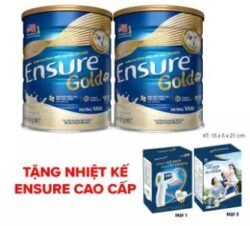 Bộ 02 Lon Ensure Gold 850g + Tặng nhiệt kế Ensure cao cấp