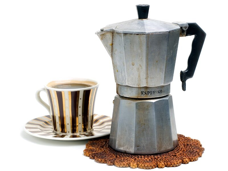 Máy pha cà phê bán tự động chỉ sử dụng bột pha cà phê