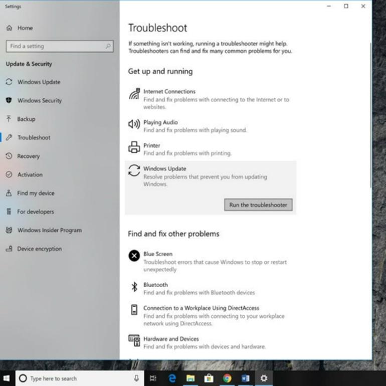 lỗi windows 10