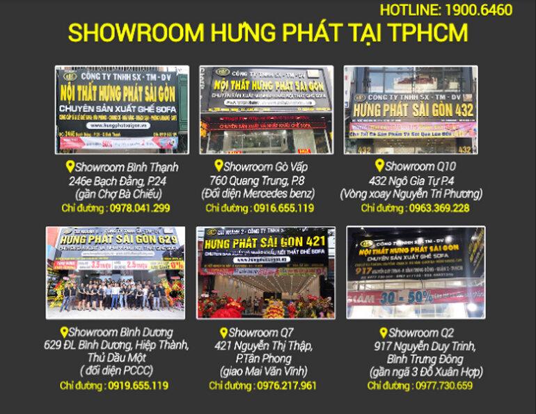 7 Showroom Hưng Phát Sài Gòn