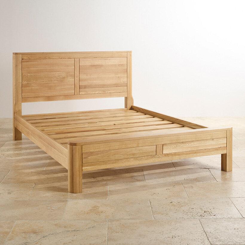Giường có kết cấu vững chắc, không rung lắc khi sử dụng mang lại giấc ngủ ngon