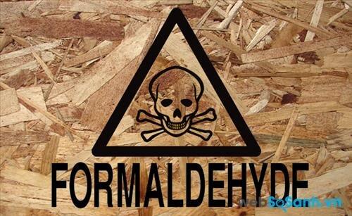 Formaldehyde là chất bảo quản trong gỗ công nghiệp, nhưng chất này có hại tới sức khỏe người sử dụng