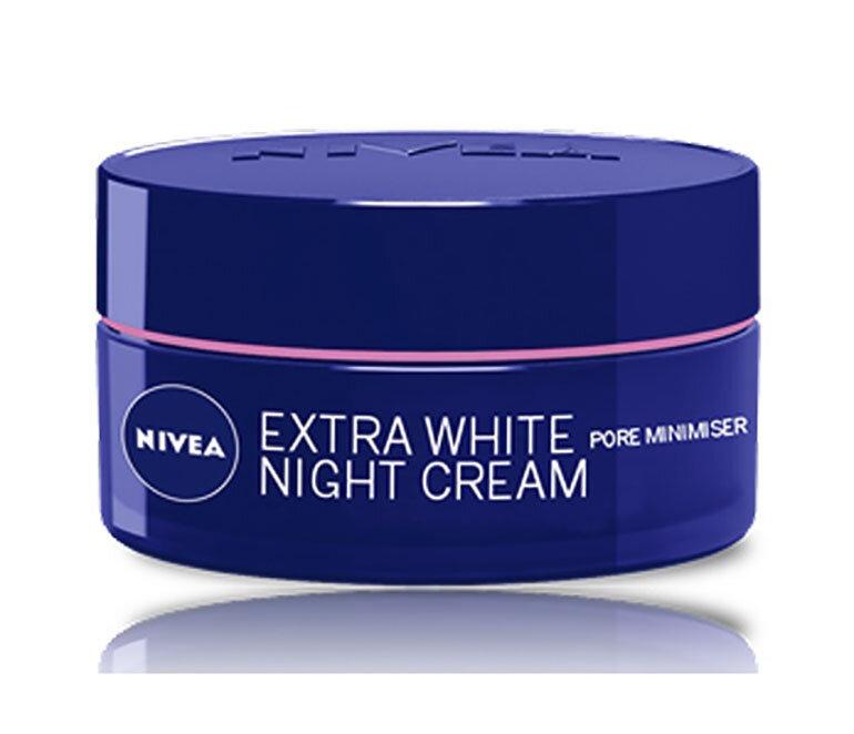 Kem dưỡng daNIVEA Extra White Pore Minimiser Night Cream chăm sóc da hằng ngày hiệu quả