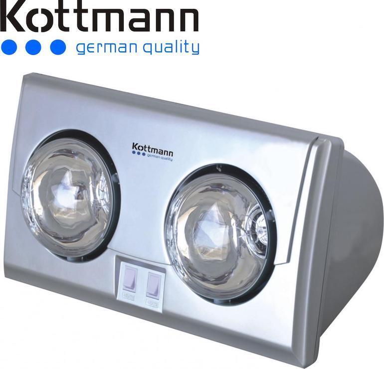Nên lựa chọn đèn sưởi 2 bóng Kottmann ở đâu?