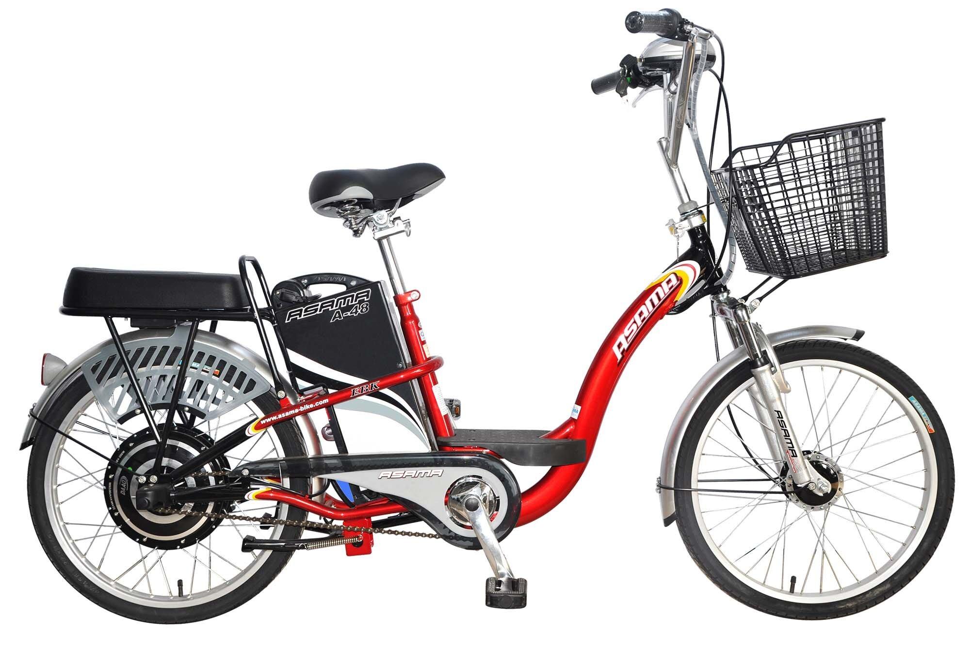 Xe đạp điện Asama được đánh giá cao nhờ vẻ ngoài thanh lịch