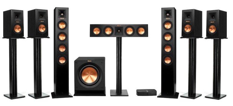 Hệ thống âm thanh 7.1 mang đến những trải nghiệm âm thanh sống động, có thể nghe nhạc, hát karaoke chất lượng