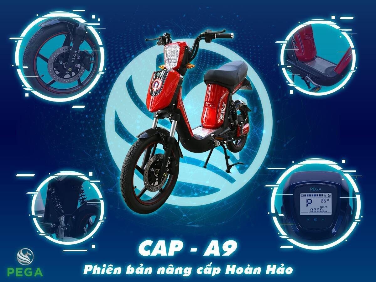 Thiết kế đẹp mắt, động cơ bền bỉ là ưu điểm của Cap – A9