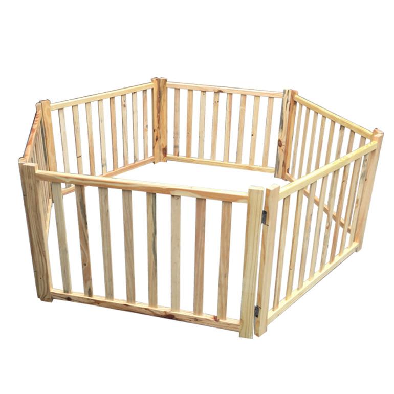 . Quây cũi trẻ em bằng gỗ
