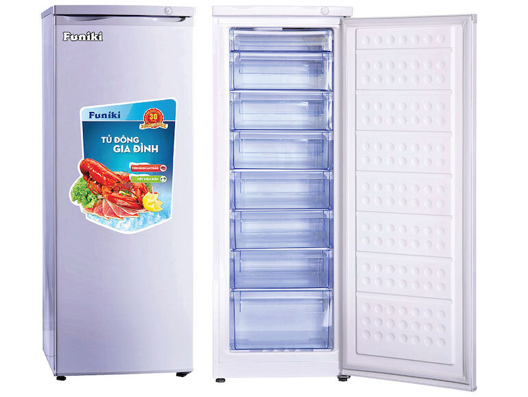 Tủ đông đứng Funiki HCF220 (216 lít)