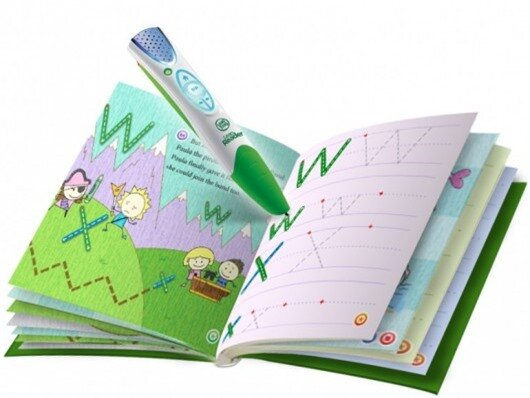LeapReader Pen teaches kids to read and write