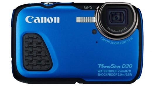 For people who need a tough-camera, the Canon PowerShot D30 is waterproof to 25 m, shockpr...