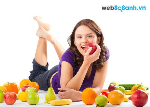 Ăn trái cây trừ bữa không phải là phương pháp giảm cân đúng đắn