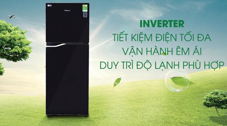 Tủ lạnh Panasonic inverter giúp tiết kiệm điện