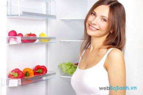 công nghệ làm lạnh đa chiều giúp khí lạnh phân phối đều tất cả các vị trí trong tủ