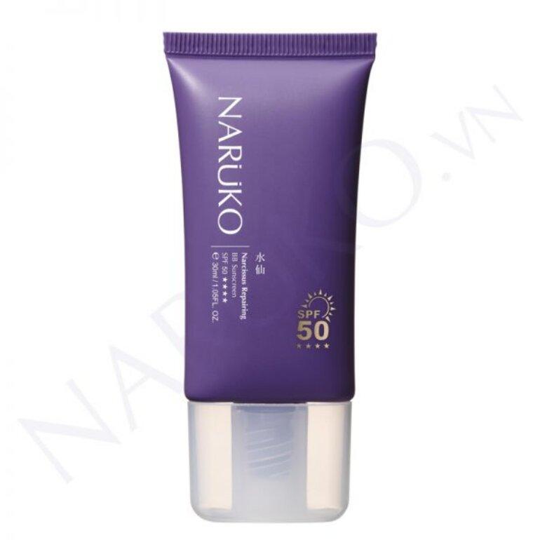 Kem chống nắng Narcissus Repairing BB Sunscreen của Naruko