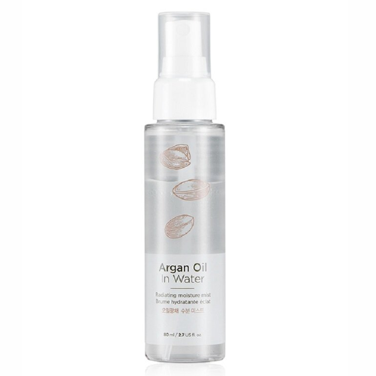 Xịt khoáng The Face Shop Argan Oil In Water Radiating Moisture Mist