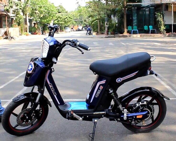 Xe đạp điện Fuji CAP – A2 màu đỏ bắt mắt