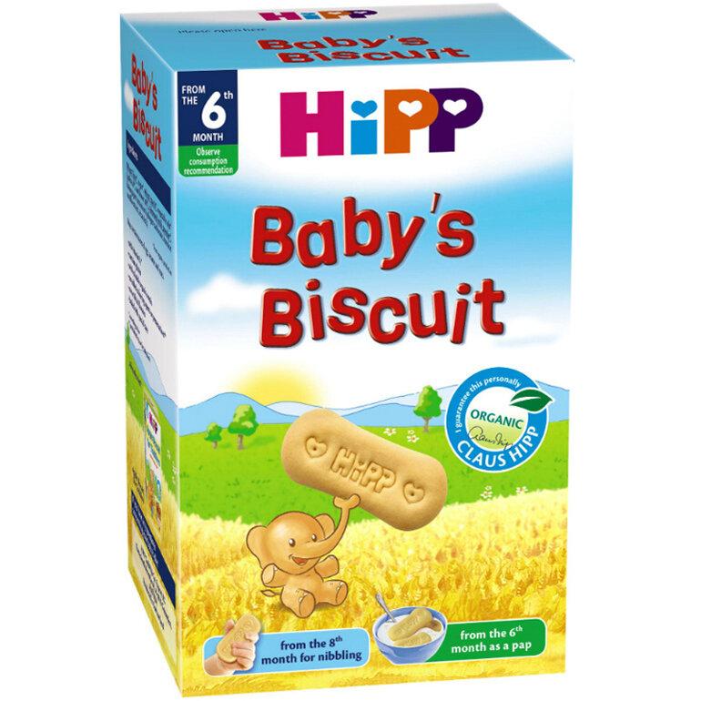 Bánh ăn dặm cho bé 7 tháng thương hiệu Đức - Hipp
