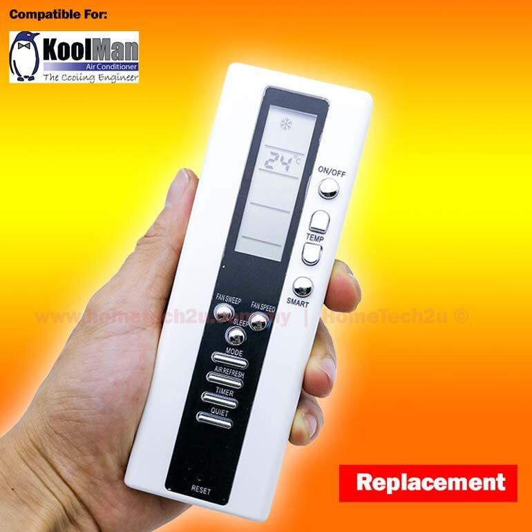 remote điều khiển điều hòa koolman