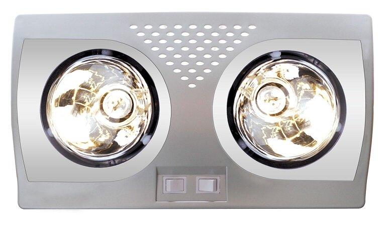 Có nên dùng đèn sưởi 2 bóng cho diện tích nhỏ không?