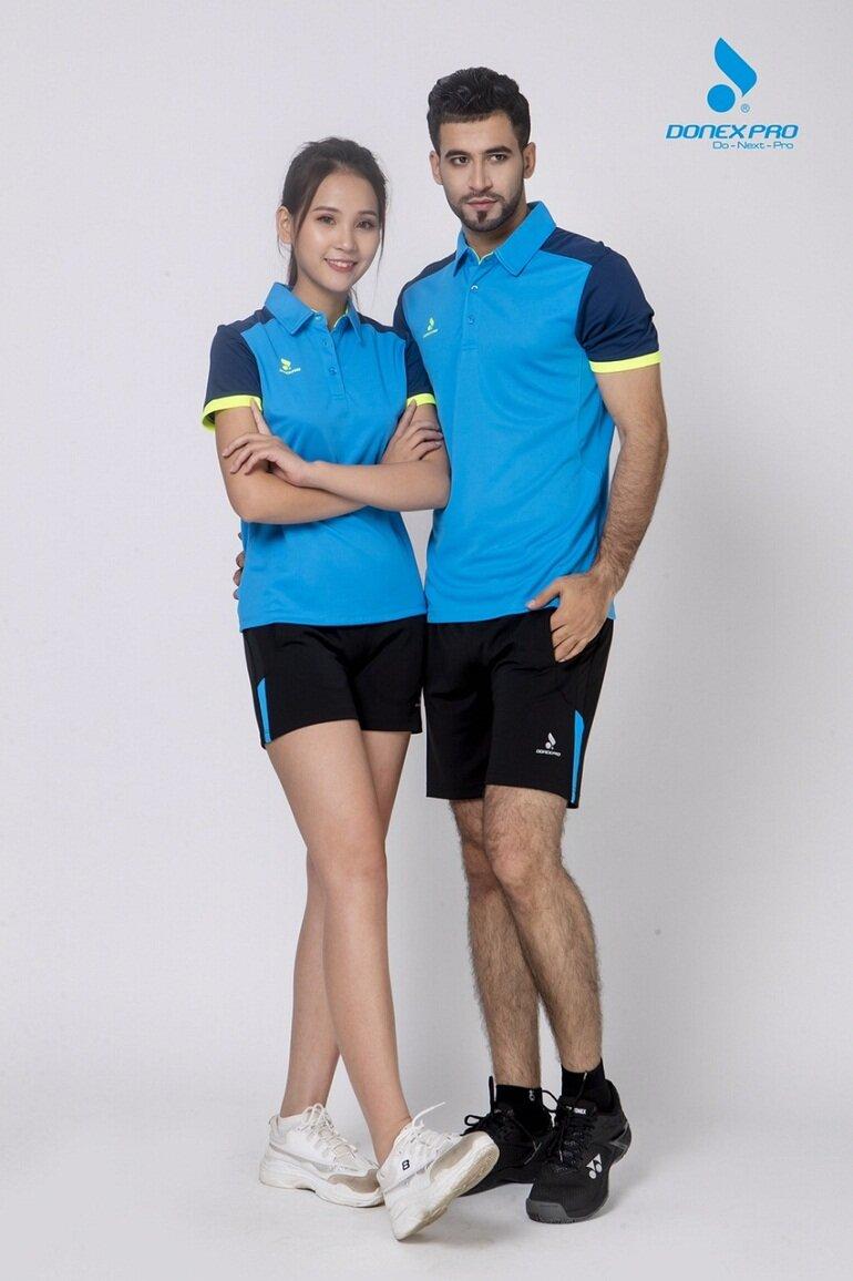 Quần áo bóng chuyền Donex rất đa dạng về mẫu mã và kiểu dáng