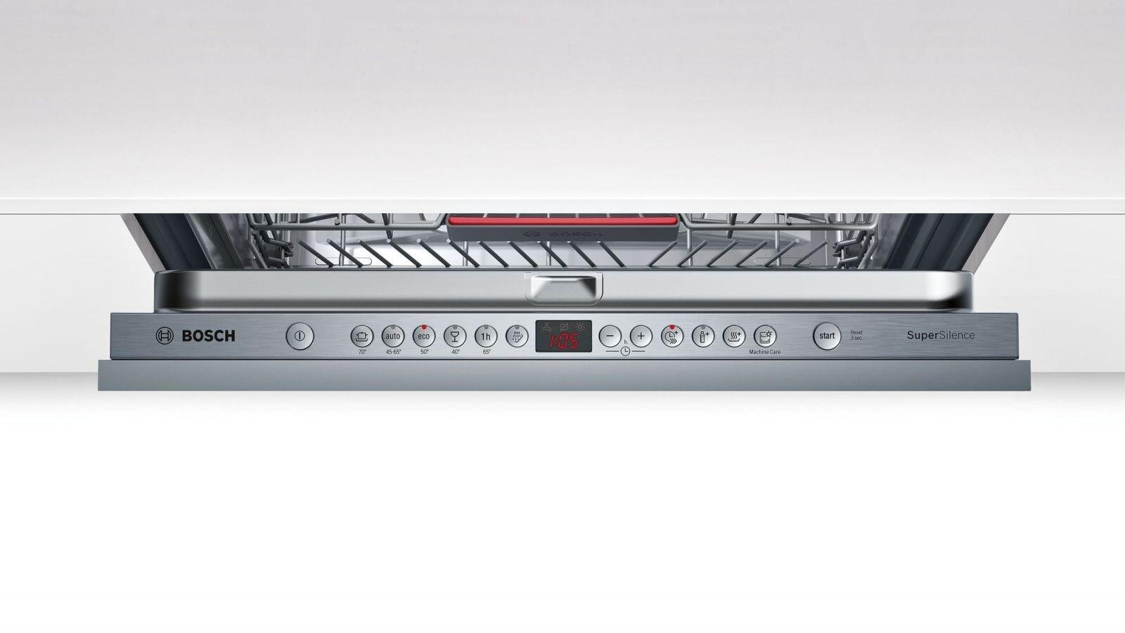 Bảng điều khiển của máy rửa bát Bosch SMV46MX03E