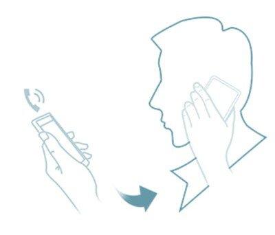 Nhận cuộc gọi bằng cảm biến thông minh!