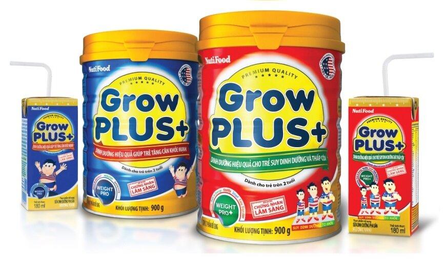 Sữa bột Nutifood Grow Plus