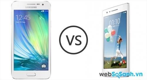 Hai mẫu điện thoại có bộ vi xử lý và dung lượng ram giống nhau