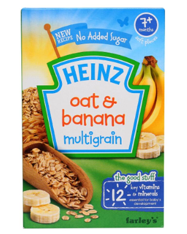 Bánh ăn dặm Heinz vị gạo sữa và lúa mạch