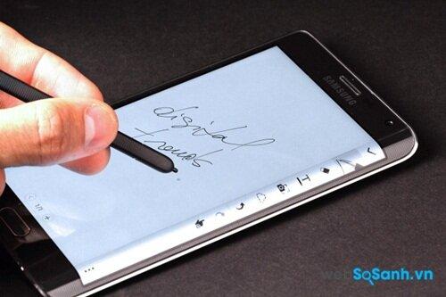 S Pen là điểm hấp dẫn của dòng Galaxy Note
